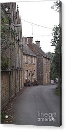 Cotswold Cottages Acrylic Print by John Williams