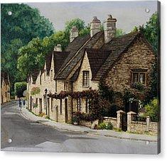 Cotswold Street Acrylic Print