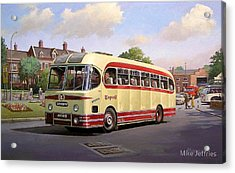 Cotswold Tour 1957 Acrylic Print by Mike  Jeffries