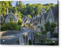 Cotswold Village Acrylic Print by Brian Jannsen