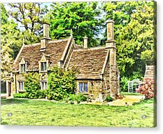 cottage at Bowood-01 Acrylic Print