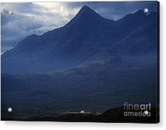 Cottage Below Sgurr Nan Gillean - Isle Of Skye Acrylic Print