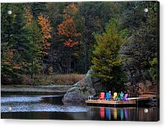 Cottage Country Acrylic Print by Jim Vance