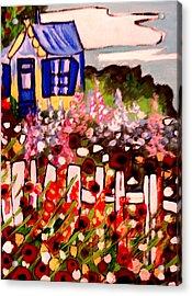 Cottage Garden Revised Acrylic Print