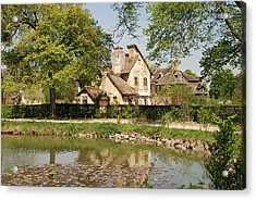 Acrylic Print featuring the photograph Cottage In The Hameau De La Reine by Jennifer Ancker