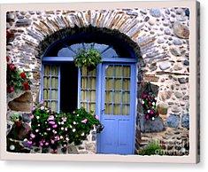 Cottage In Village St Jean Les Buzy Acrylic Print by Linda  Parker