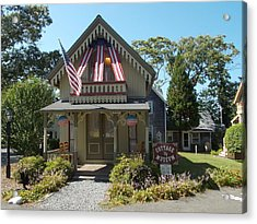 Cottage Musuem Acrylic Print by Catherine Gagne