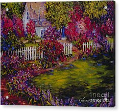 Cottage Of My Heart's Delight Acrylic Print
