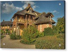 Cottage Versailles Acrylic Print