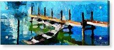 Cottage View Tnm Acrylic Print by Vincent DiNovici