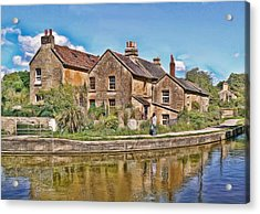 Cottages At Avoncliff Acrylic Print