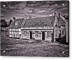 Cottages Devizes -1 Acrylic Print