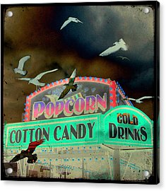 Cotton Candy Acrylic Print by Gothicrow Images