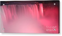 Cotton Candy Acrylic Print by Kathleen Struckle