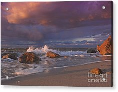 Cotton Candy Sunset Acrylic Print