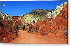 Cottonwood Canyon Road IIi Acrylic Print
