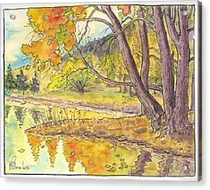Cottonwood Cove Acrylic Print
