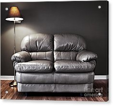 Couch And Lamp Acrylic Print by Elena Elisseeva