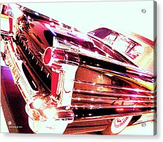Could You Add Some More Chrome Acrylic Print by Don Struke