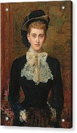 Countess De Pourtales Acrylic Print by Sir John Everett Millais