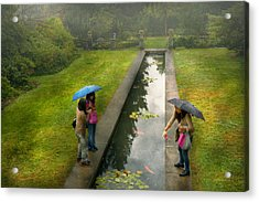 Country - A Day Out With The Girls Acrylic Print by Mike Savad