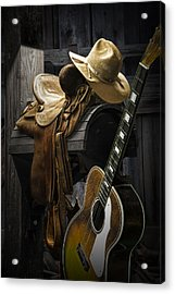 Country And Western Music Acrylic Print
