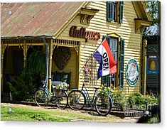 Country Antiques Acrylic Print by Julie Penney