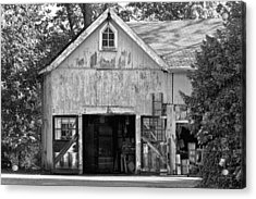 Country - Barn Country Maintenance Acrylic Print by Mike Savad