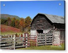 Country Barn Acrylic Print