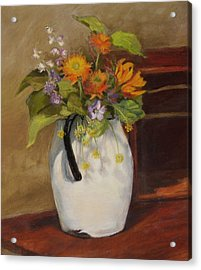 Country Bouquet Acrylic Print