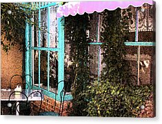Country Cafe Acrylic Print