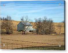 Country Acrylic Print
