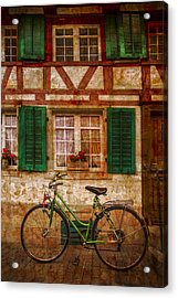 Country Charm Acrylic Print by Debra and Dave Vanderlaan