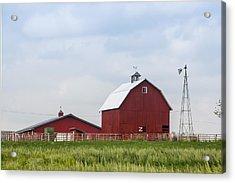 Country Farm Portrait Acrylic Print