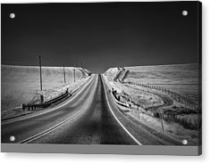 Country Farm Road Acrylic Print by Anthony Citro