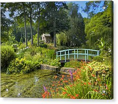 Country Garden Acrylic Print by Darren Wilkes
