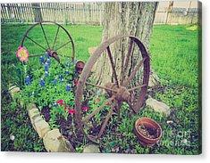 Country Garden Acrylic Print
