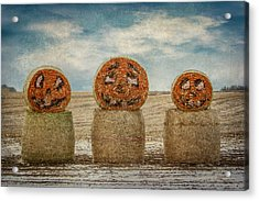 Acrylic Print featuring the photograph Country Halloween by Patti Deters