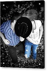 Country Kissin Acrylic Print