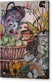 Country Kitchen Acrylic Print by Laneea Tolley