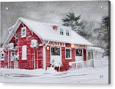 Acrylic Print featuring the photograph Country Kitchen by Robin-Lee Vieira