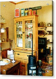 Acrylic Print featuring the painting Country Kitchen Sunshine IIi by RC deWinter