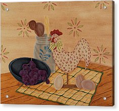 Country Kitchen Acrylic Print by Tracy Campbell