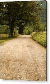 Country Lane - Smoky Mountains Acrylic Print by Andrew Soundarajan