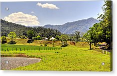 Country Living Acrylic Print by Terry Everson