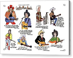 Country Music Awards Acrylic Print