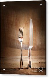 Country Place Setting. Acrylic Print by Mythja  Photography