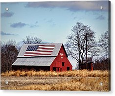 Country Pride Acrylic Print by Cricket Hackmann