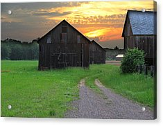 Country Road Acrylic Print by Andrea Galiffi