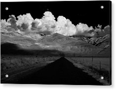 Country Road Acrylic Print by Cat Connor